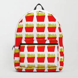 French fries -fries,patatoes,fast food,patato,frites,wedges,patata Backpack