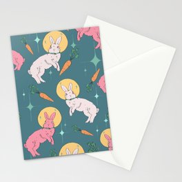 Bun Buns in Space Stationery Cards