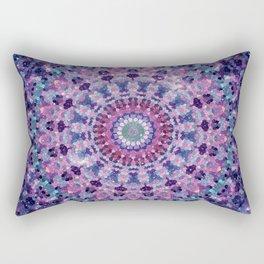 ARABESQUE UNIVERSE MANDALA  Rectangular Pillow