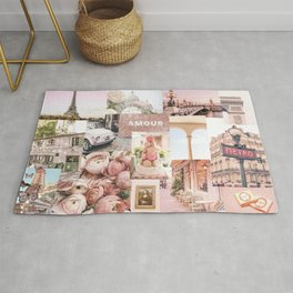 French Wall Collage Rug