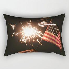 Happy America Rectangular Pillow