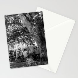 The afternoon gathering Stationery Cards