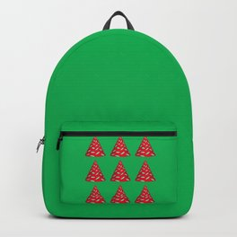 Party Time Party Hats - Red & Green Backpack