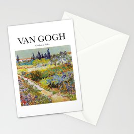 Van Gogh - Garden at Arles Stationery Cards
