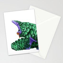 Purple Pangolin Stationery Cards