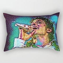 Jackson Artistic Illustration Gems Style Rectangular Pillow
