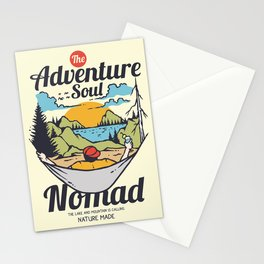 The Adventure Soul Stationery Cards