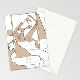iFail White + Gold inverse (Picture This!) Stationery Cards