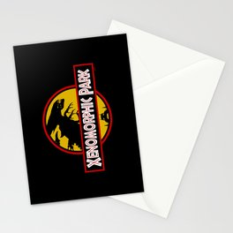 Xenomorphic Park  Stationery Cards