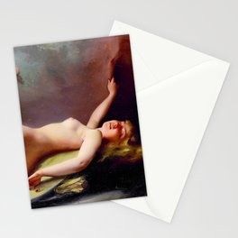 "Luis Ricardo Falero ""Reclining nude"" also known as ""The Opium Smoker"" Stationery Cards"