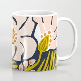 Backyard flower – modern floral illustration Coffee Mug