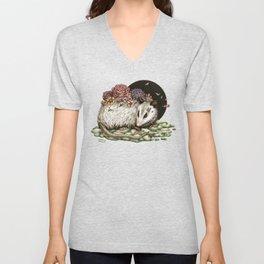 Blossom Possum Unisex V-Neck