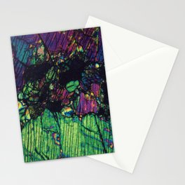Pyroxene Crystals Stationery Cards