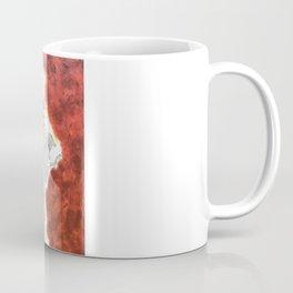 Gesture Lady in Dress, Red Coffee Mug