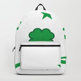 "T-shirt Design Get this cool St.Patrick's Day Souvenir Featuring The Text ""Let's Get Sham Rocked"" Backpack"
