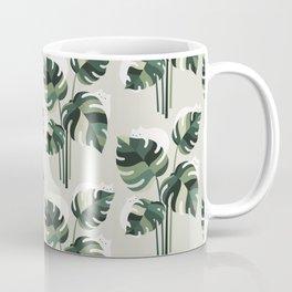 Cat and Plant 11 Pattern Coffee Mug