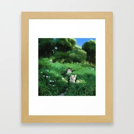 Internet Cats Framed Art Print