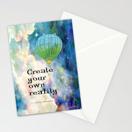 CREATE YOUR OWN REALITY Stationery Cards