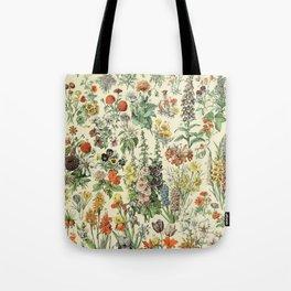 Adolphe Millot Vintage Fleurs Flower 1909 Tote Bag