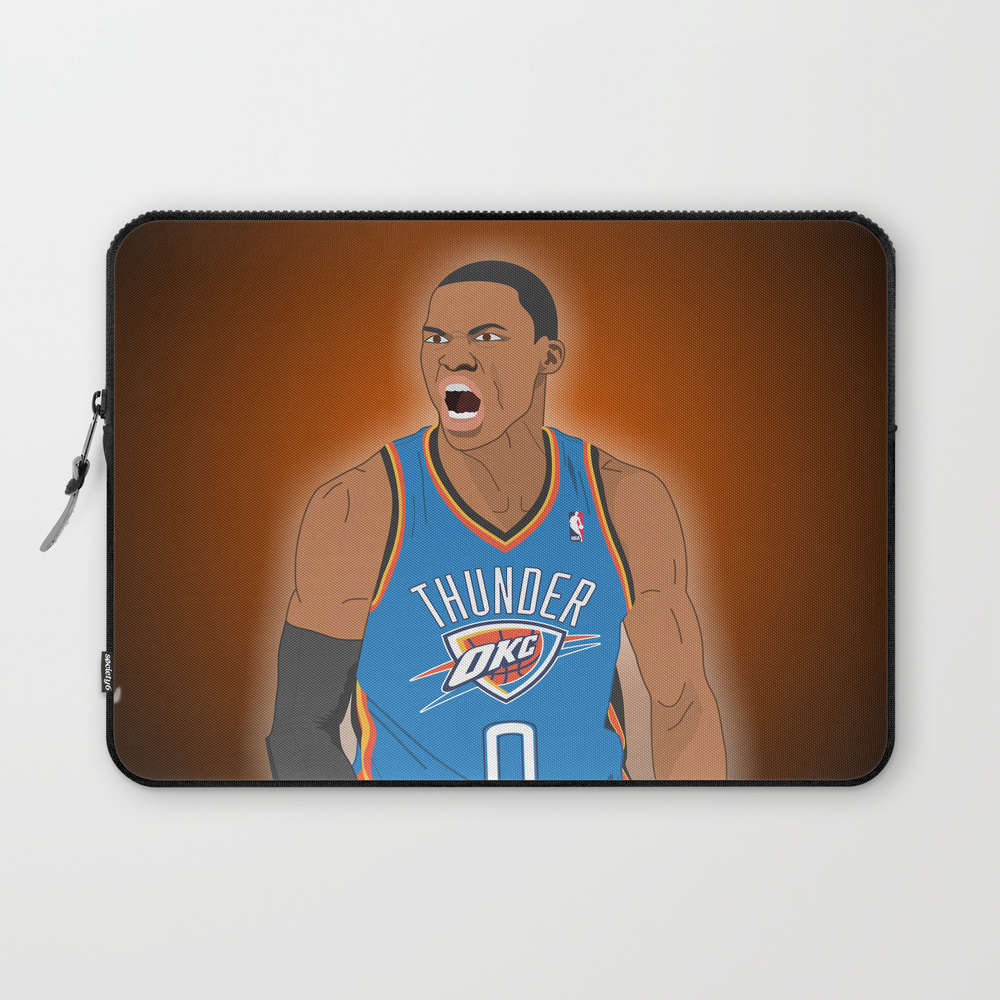 Oklahoma Thunder - Russell Westbrook Laptop Sleeve LSV8023445