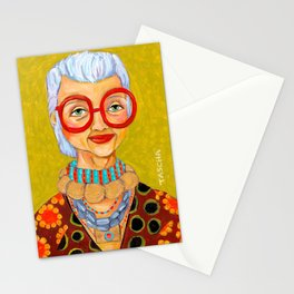 IRIS Apfel New York Fashion Icon Stationery Cards