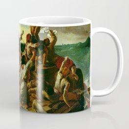 The Raft Of The Medusa By Théodore Géricault Coffee Mug