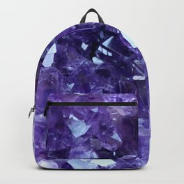 Raw Amethyst - Crystal Cluster Backpack