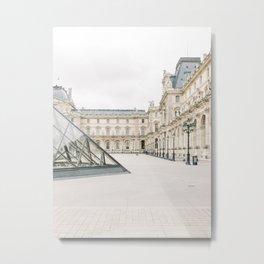 The Louvre, Paris, France | Travel Photography | Fine Art Metal Print