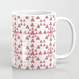 Triskele 16-triskelion,triquètre,triscèle,spiral,celtic,Trisquelión,rotational Coffee Mug