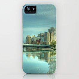 Hiroshima Confluence iPhone Case
