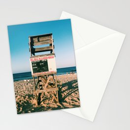 your life guard is nate Stationery Cards