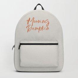 Morning Pumpkin Backpack