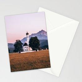 St. Coloman church Swangau Bavaria Germany Stationery Cards