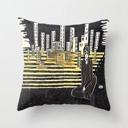 Grown up chaos Throw Pillow