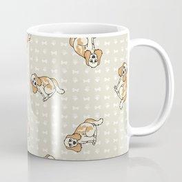 Hand drawn cute cocker spaniel puppy breed dog.  Coffee Mug