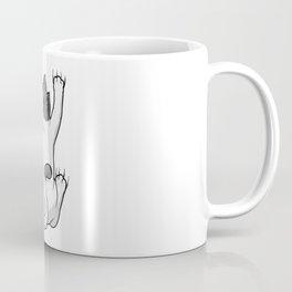 Cat on Hug Coffee Mug