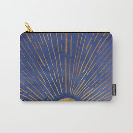 Twilight / Blue and Metallic Gold Palette Tasche