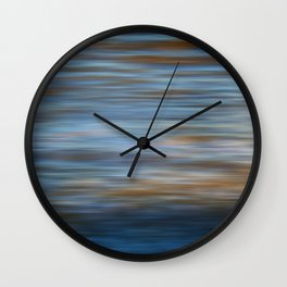 Ripples in water natural pattern Wall Clock