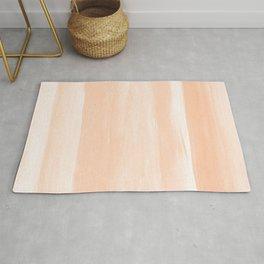 Soft Orange Watercolor Abstract Minimalism #1 #minimal #painting #decor #art #society6 Rug