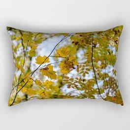 Yellow leaves Rectangular Pillow