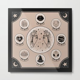 Witch Accessories Metal Print