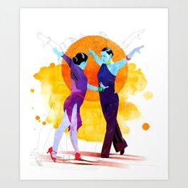 Victory Dance Art Print