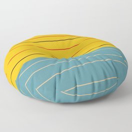 Minimal Abstract Art - Badalisc Floor Pillow