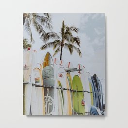 Surfs Up IV Metal Print