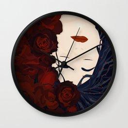 Sleeping with Roses (Sleeping Beauty Series) Wall Clock