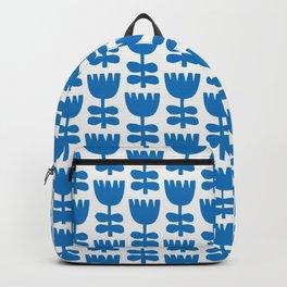 Scandi Floral | Blue Backpack