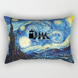 The Doctors Walking Of Starry Night Rectangular Pillow