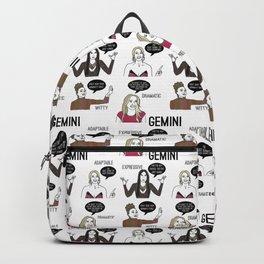 Gemini- Bravostrology Series Backpack