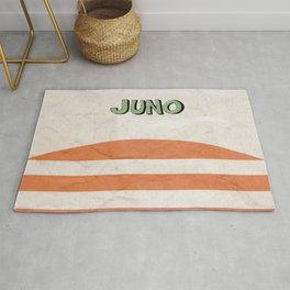 Juno - Alternative Movie Poster, classic movie, funny movie, minimal movie poster Rug