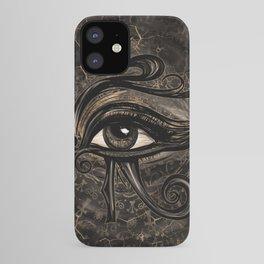Egyptian Eye of Horus - Wadjet Digital Art iPhone Case